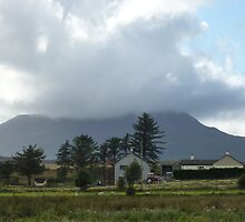 Cloud over Muckish Mountain by Fara