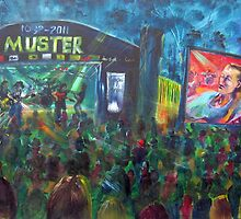 30th Gympie Muster Main Stage 2011 by tola