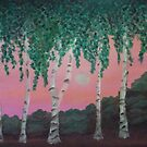 Birches by Holly Martinson