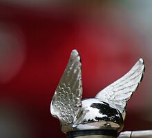 "1920's Chrysler ""Winged Cap"" Hood Ornament by Jill Reger"