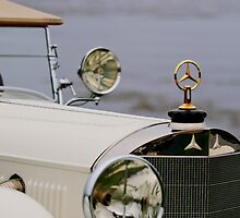 1929 Mercedes-Benz S Tourer Hood Ornament by Jill Reger