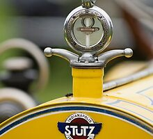 1914 Stutz Series E Bearcat Hood Ornament by Jill Reger