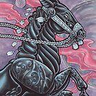 Ebony Horse by Erika Harm