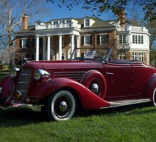 1935 Auburn 851 Roadster by TeeMack