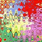 Bubble Abstract by DiEtte Henderson