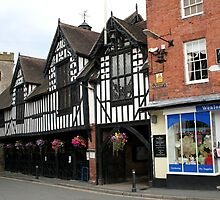 The Guildhall, Much Wenlock by hjaynefoster