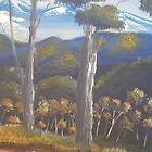 Highlands Gum Trees by PamelaMeredith