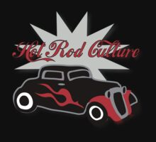 Hot Rod Culture Tee by patjila