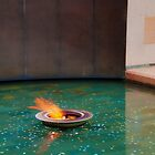 Canberra War Memorial, Eternal Flame by Jaxybelle
