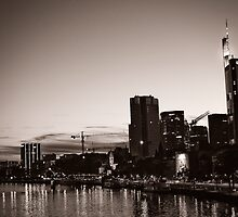 Frankfurt / Main - Skyline by Michaela Rother