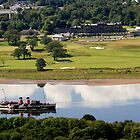 PS Waverley at Erskine by Peter Stark