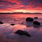 Beach near Flinders Esp, Taroona, Tasmania #2 by Chris Cobern