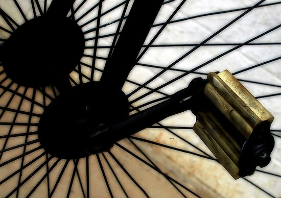 The Spokes of Time by ArtbyDigman
