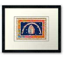 Christmas: Jesus Christ , Joseph, Mary  Framed Print