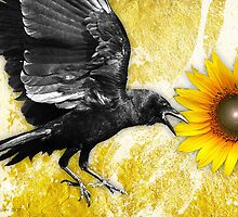 the ravens sunflower by arteology