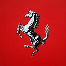 The Prancing Horse - Acrylic Painting by Scotty Simpson