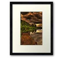 Journey Into Loch Ard Framed Print