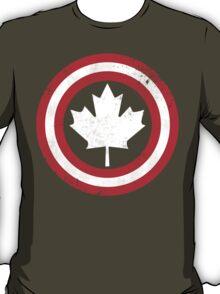Captain Canada (White Leaf) T-Shirt