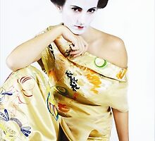 Geisha 5 by Jennifer Lam