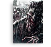 Zombie Horde Canvas Print