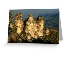 love legend-Three Sisters at Blue Mountain, Sydney, Australia Greeting Card