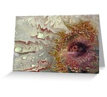 """""""Eye of the Storm ....."""" Greeting Card"""