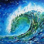 The wave&#x27;s power by  Pauline Wherrell