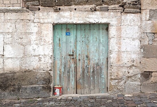 Rustic Door No. 10 by Glennis  Siverson