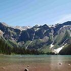 Avalanche Lake, Glacier National Park by BeckyMP