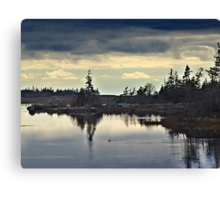 Early Morning In The Salt Marsh Canvas Print