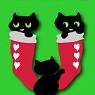 Three little kittens by patjila