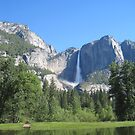 Yosemite Falls by sunsetgirl