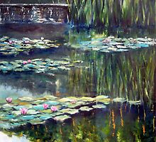 Water lilies by Beata Belanszky Demko