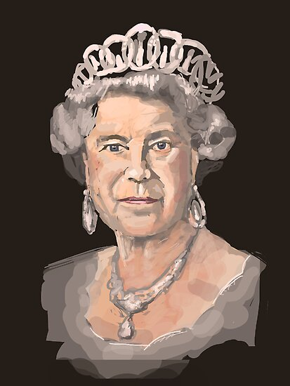 Queen Elizabeth II by Nigel Silcock