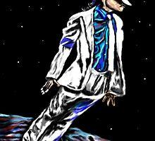 Man on the Moon-MoonWalker by Herbert Renard