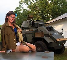 Michelle and the Humber by LibertyCalendar