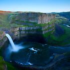 Palouse Falls Dusk by DawsonImages