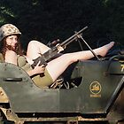 Jordan in a 1942 Ford GPW by LibertyCalendar