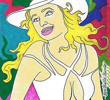 '' Pretty Hat Barbie ''   by BellaBarrio