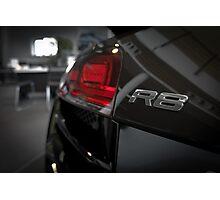 Audi R8 Model Badge Photographic Print