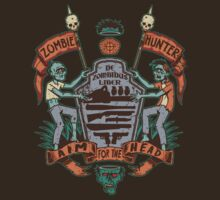 Zombie Hunters Coat of Arms (BROWN) by Bamboota