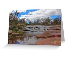 Beraking Brook - Western Australia Greeting Card