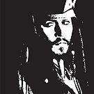 Captain Jack Sparrow by Lauren Eldridge-Murray