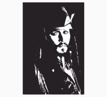 Captain Jack Sparrow T-shirt/sticker Kids Clothes