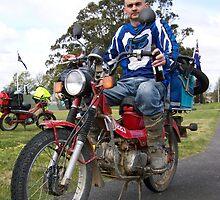 the day of the postie bike  by twistwashere