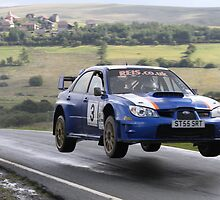 Peter Lloyd/Carl Sorensen - Impreza S12 WRC - Mewla Rally 2011 by MSport-Images
