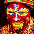 PNG Warrior Colorful Smile by chrisfranklin1