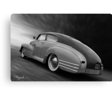 Floor That Chevy Canvas Print