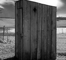 Koyle Cemetery Outhouse 5 by CurtisNeeley