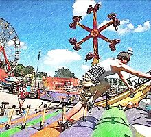 Fun At The Fair by Linda Miller Gesualdo